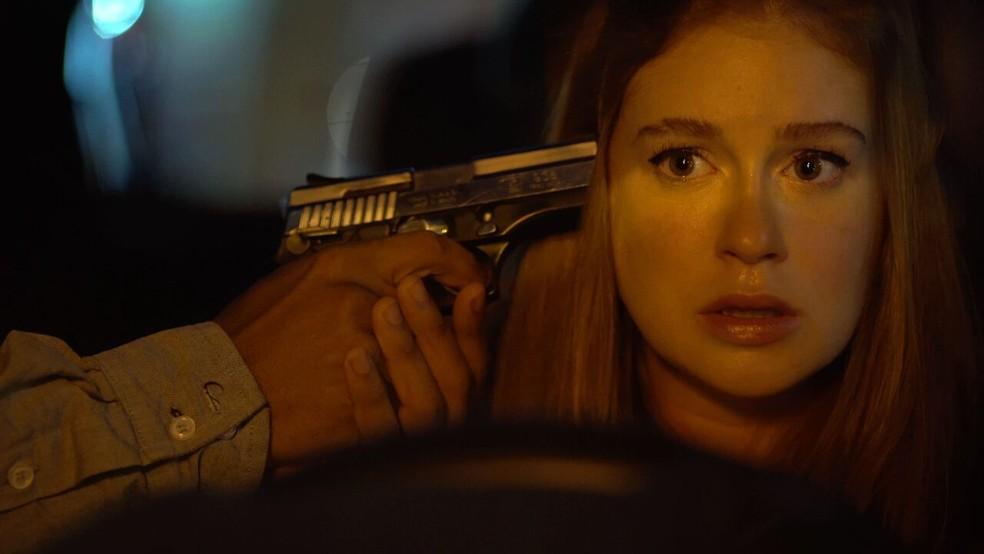 Marina Ruy Barbosa estreia no cinema com mocinha durona no suspense 'Sequestro Relâmpago' — Foto: Divulgação
