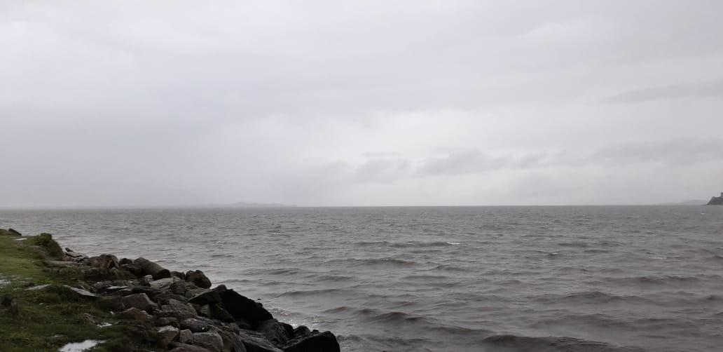 Frente fria deixa o tempo instável em Santa Catarina nesta terça-feira