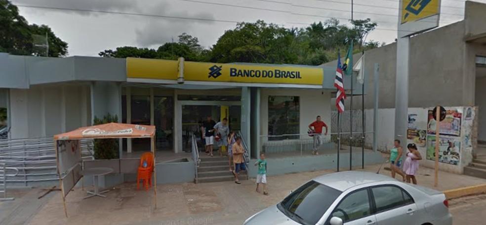 Fachada da agência do Banco do Brasil em Lago da Pedra (MA) — Foto: Reprodução/Google Maps