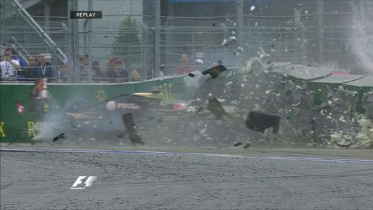 VÍDEO: Hulk e Ericsson, Grosjean, Kimi e Bottas... As batidas do GP da Rússia
