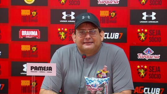 Guto Ferreira foca em finalizações para destravar Sport diante do América-MG