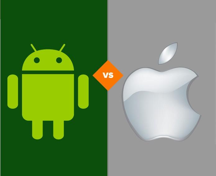 comparativo entre apple e android (Foto: reprodução/ TechTudo)