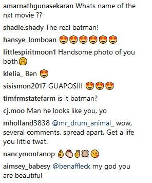 Ben Affleck (Foto: Instagram)