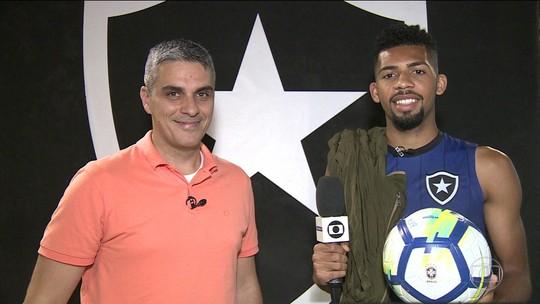 """""""Ladrão"""" do Botafogo, Matheus Fernandes entra no Top 3 das roubadas de bola: """"Quero ser 1º"""""""