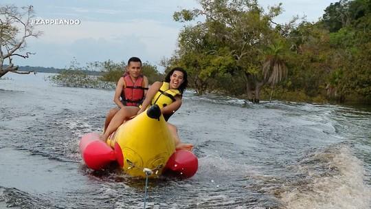 'Zappeando' entra no clima do verão amazônico