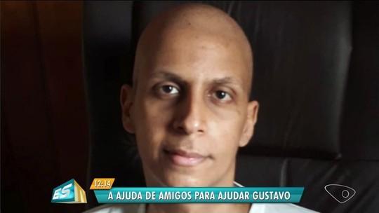 Grupo faz 'vaquinha' virtual para custear tratamento de amigo com câncer, no ES