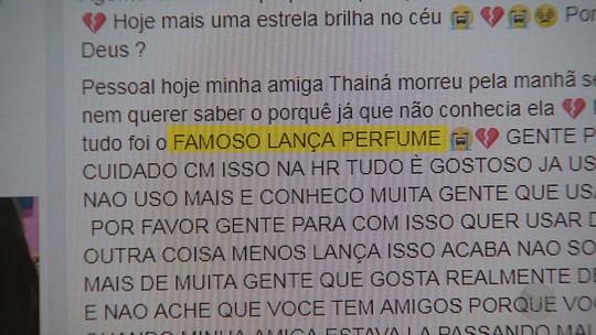 Adolescente de 17 anos morre após festa em Ribeirão Preto e polícia apura uso de lança-perfume