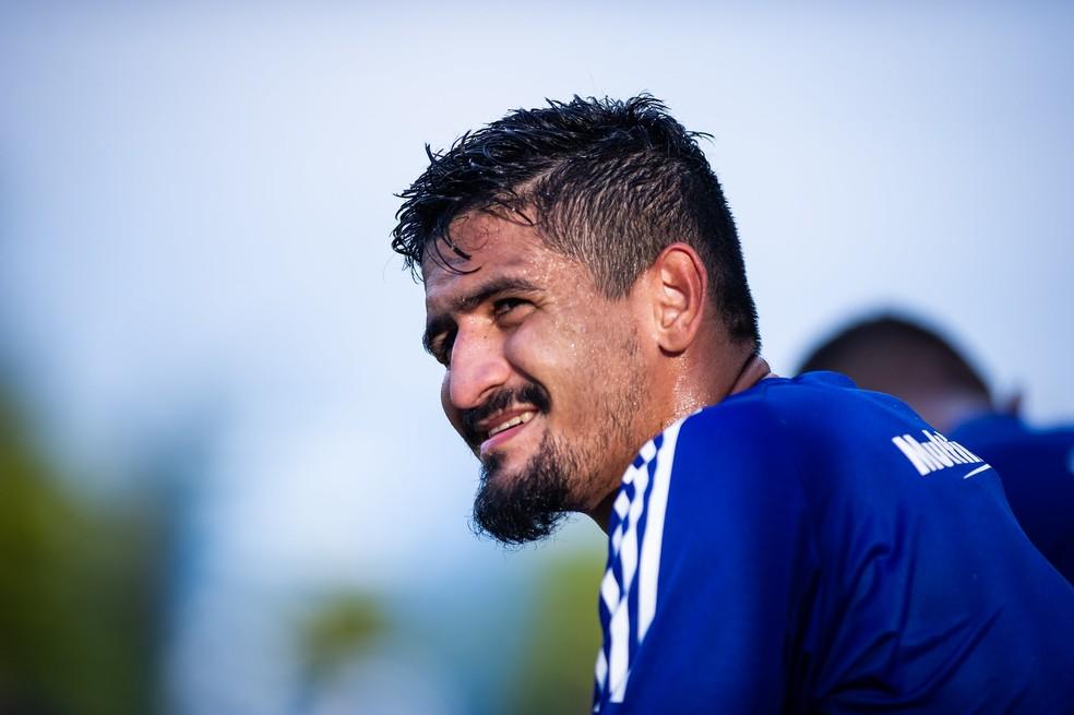 Ramon, zagueiro do Cruzeiro — Foto: Bruno Haddad/Cruzeiro