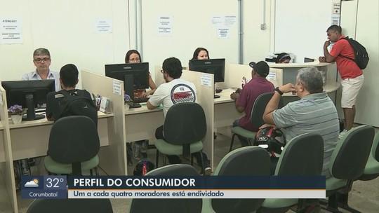 Pesquisa realizada em 13 cidades da região revela que um a cada 4 consumidores está endividado