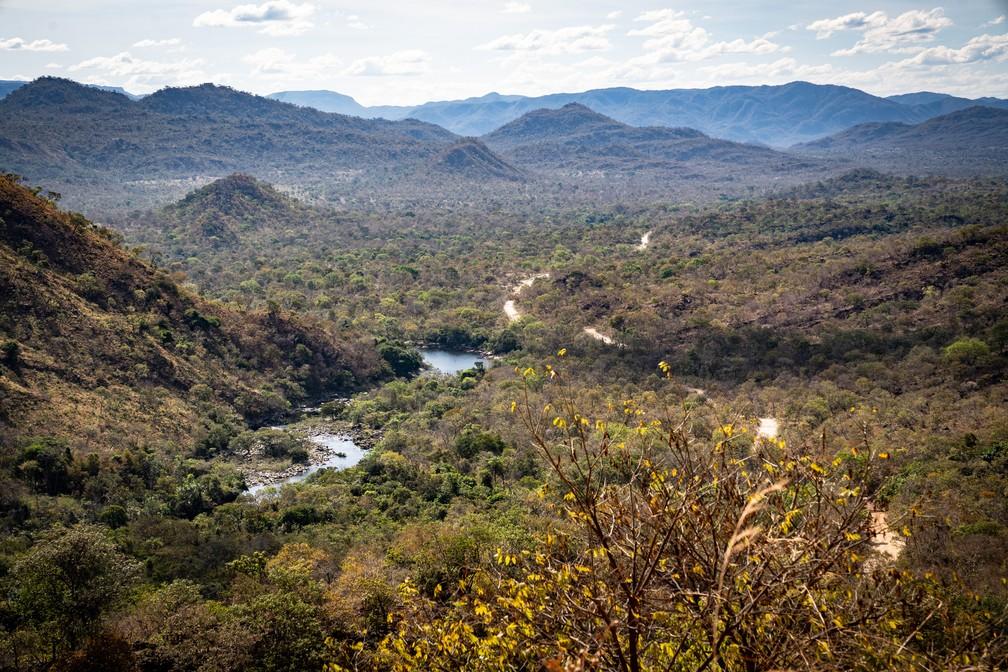 O território kalunga tem 261 mil hectares reconhecidos pelo estado brasileiro. Com cerca de 300 anos de ocupação, o lugar segue conservado. — Foto: Fábio Tito/G1