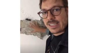 Fabio Porchat visitou sua nova casa e mostrou para seus seguidores imagens do local, que tem dois andares, quintal com muito verde e passará por um grande reforma | Reprodução