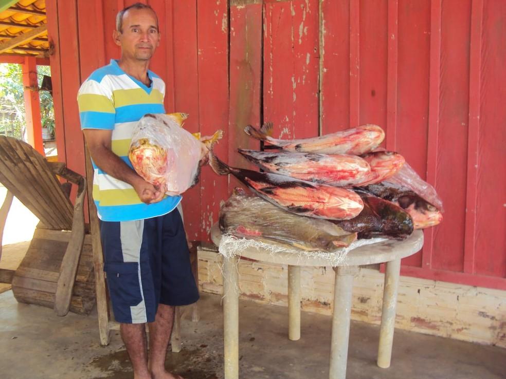 Francisco Pereira desapareceu no domingo 18 de novembro  — Foto: Maria Ivaneuza da Silva/ Arquivo pessoal