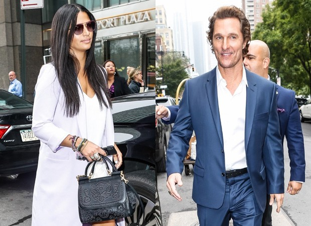 Camila Alves e matthew McConaughey (Foto: BackGrid)