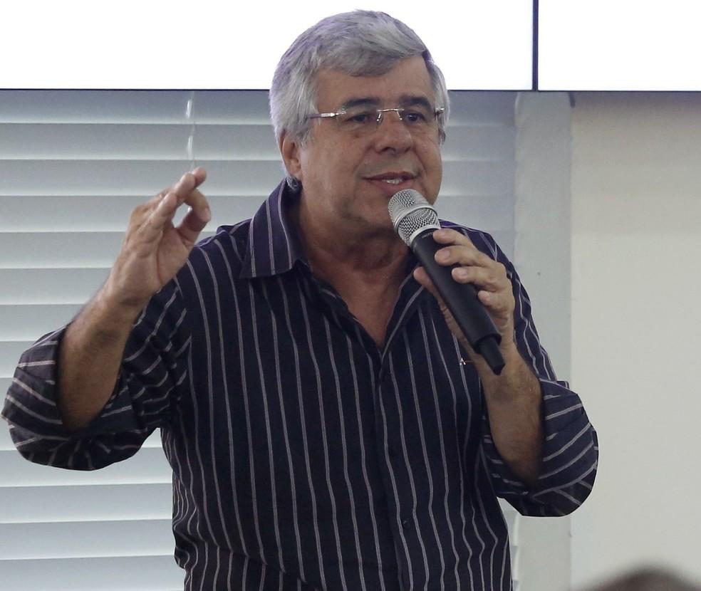 Jornalista Paulo Fona — Foto: Dênio Simões / Agência Brasília