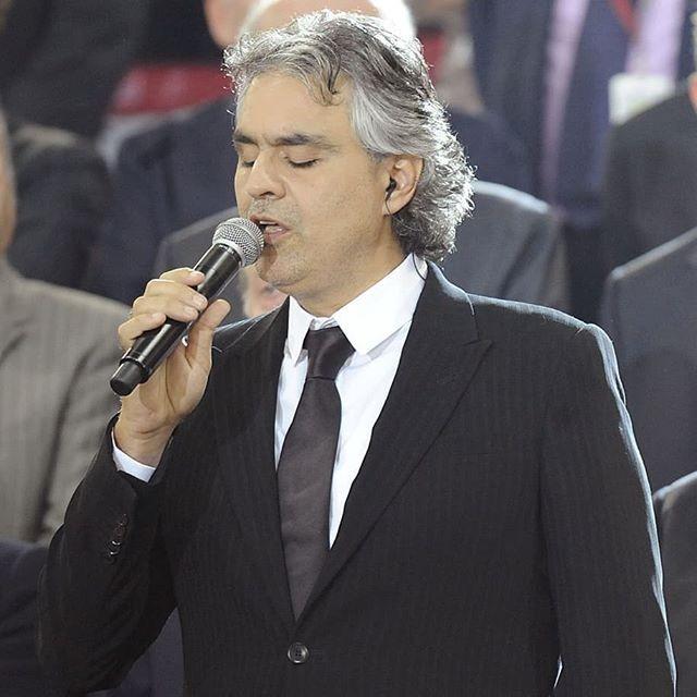 Andrea Bocelli (Foto: Reprodução/Instagram)