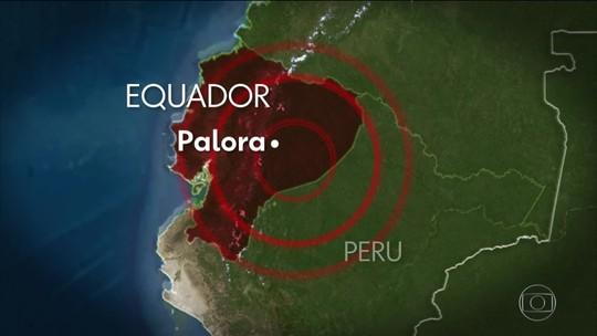 Terremoto de 7,5 de magnitude atinge o Equador