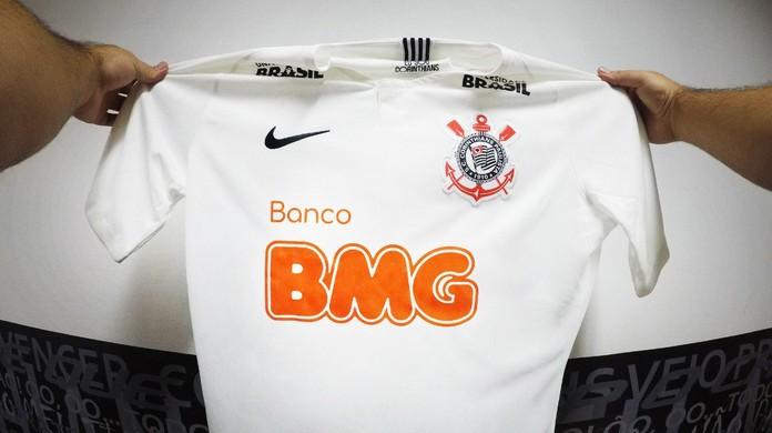 Banco BMG é o novo patrocinador máster do Corinthians  contrato é de dois  anos  f9e76cd59e8e6