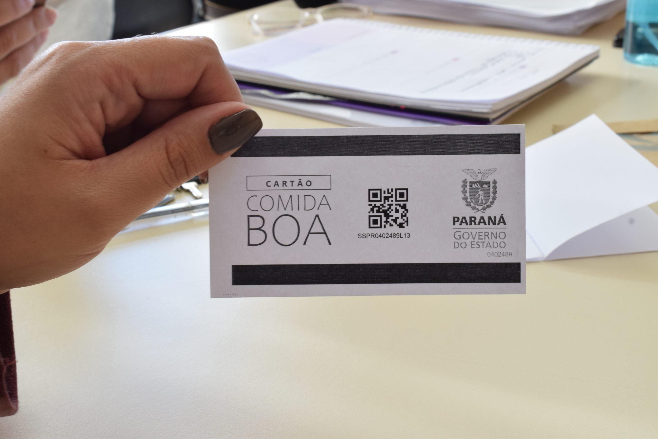 Entrega do cartão do programa 'Comida Boa' termina na sexta-feira (28), em Guarapuava