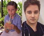 Herval Silveira, que foi filho de Letícia Spiller em 'Suave veneno', se formou em Medicina no fim do ano passado | Luís Alvarenga e Reprodução