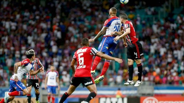 Bahia e São Paulo se enfrentam na Arena Fonte Nova