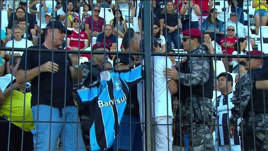 Em vitória do Inter sobre ABC, torcedores do Grêmio são convidados a se retirar