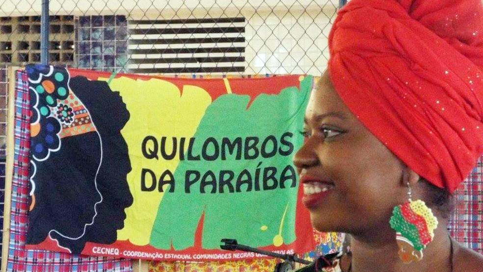 Luciene Tavares é moradora de comunica quilombola e luta pela preservação da cultura em Alagoa Grande (Foto: Arquivo Pessoal/Luciene Tavares )