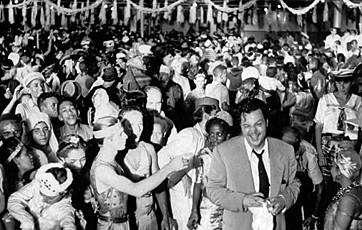 Orson Wells no Cassino da Urca, anos 1940