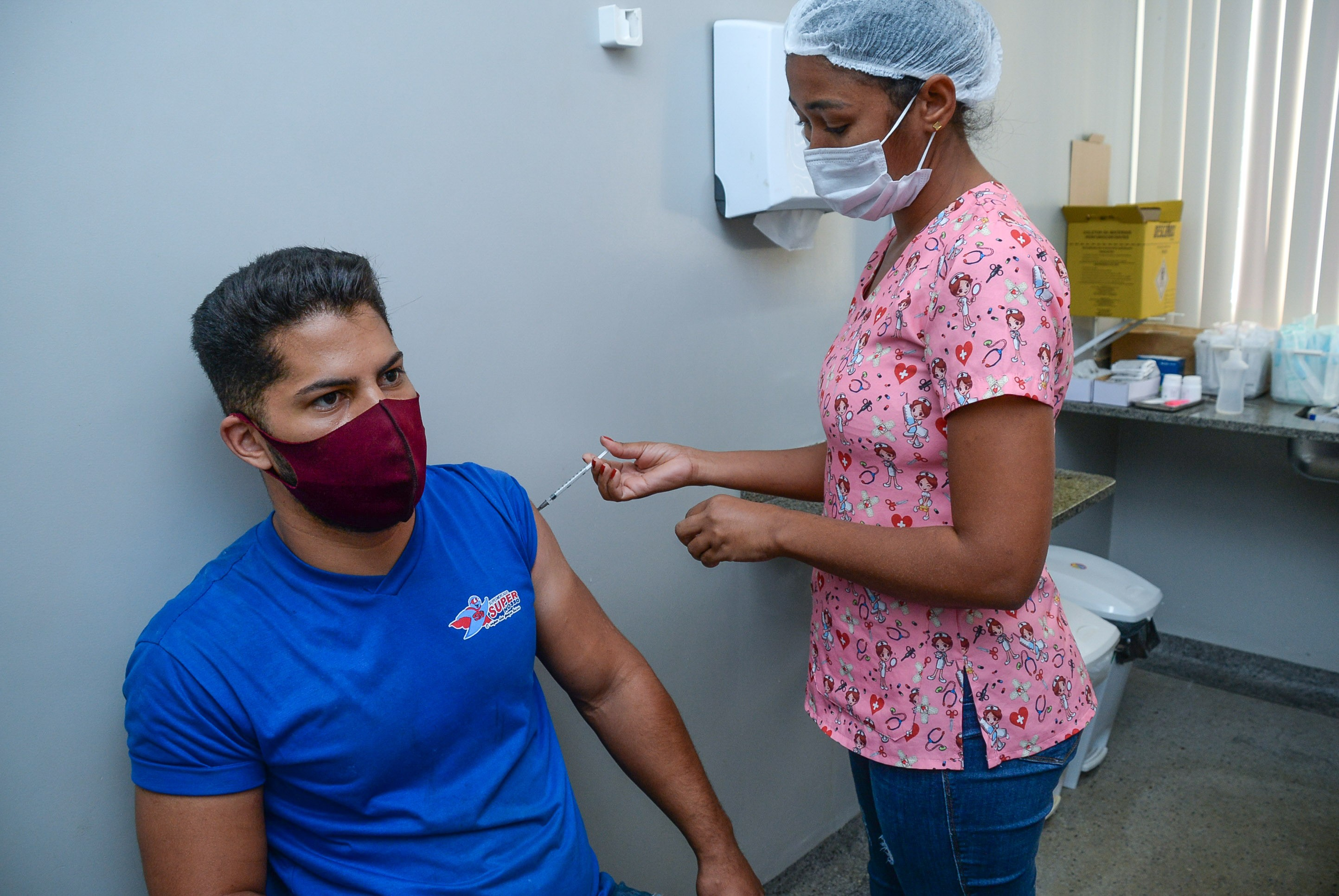 Teresina abre agendamento para vacinação contra Covid-19 de pessoas de 20 anos ou mais