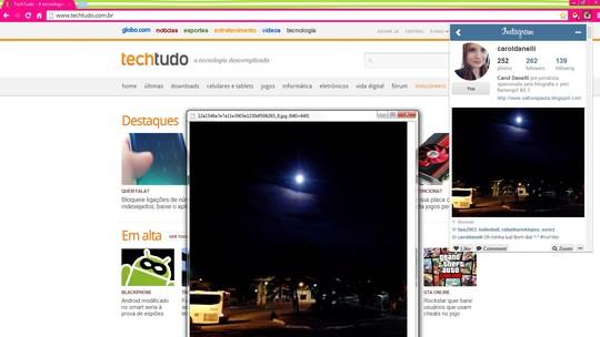 Instagram for Chrome | Download | TechTudo