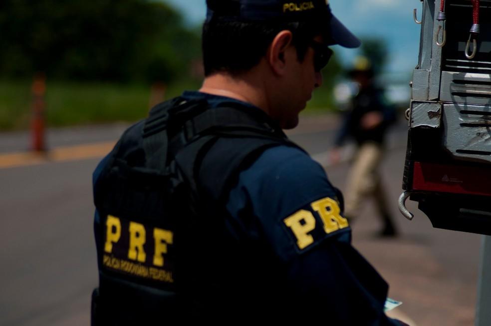 PRF reforçou efetivo nas ruas para operação no Ano Novo — Foto: PRF/Divulgação