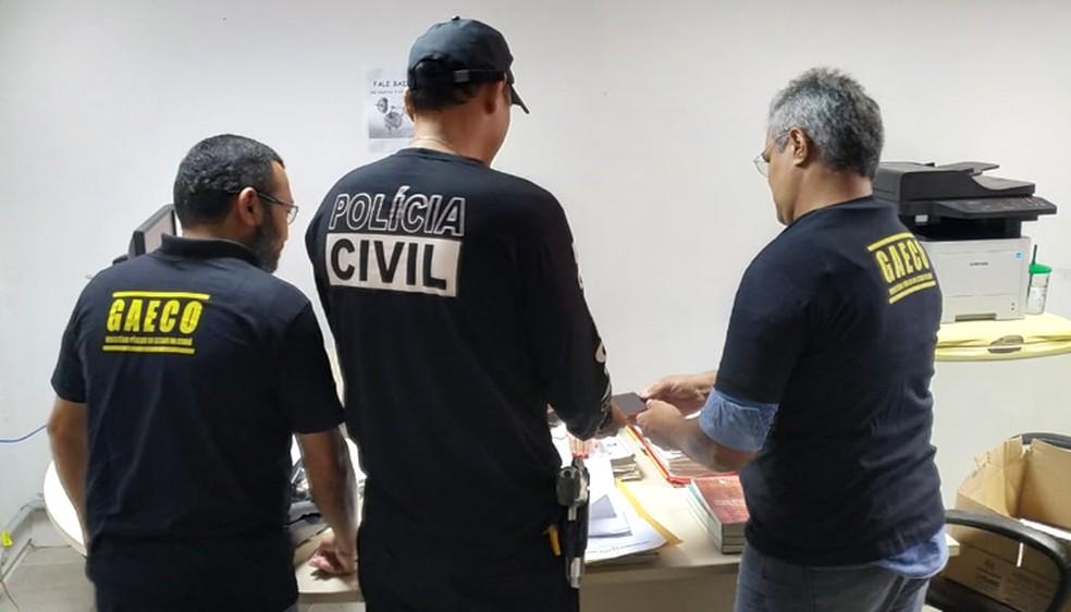 De acordo com o MPCE, a organização criminosa tem envolvimento com outros crimes correlatos de drogas e homicídios. — Foto: Divulgação/MPCE