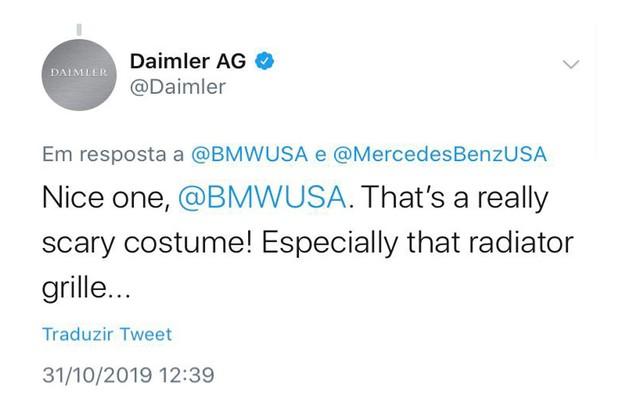A Mercedes não deixou barato (Foto: Reprodução/Internet)