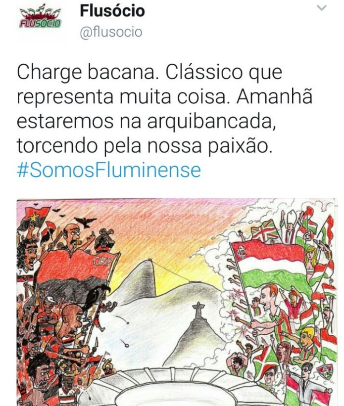 Post Twitter @Flusocio
