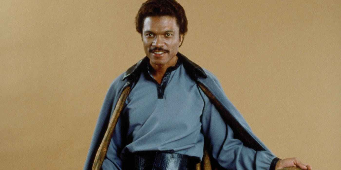 Billy Dee Williams como Lando Calrissian na trilogia original de Star Wars (Foto: Divulgação)