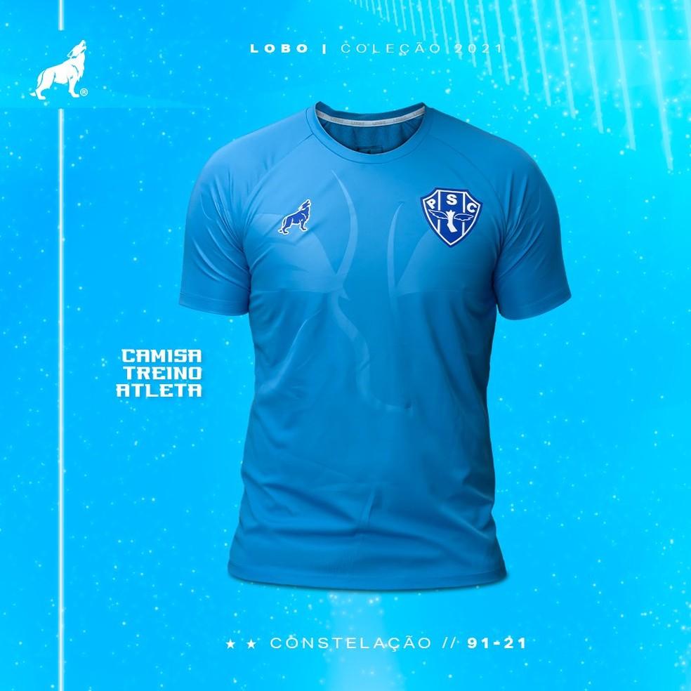 Camisa de treino jogadores — Foto: Divulgação