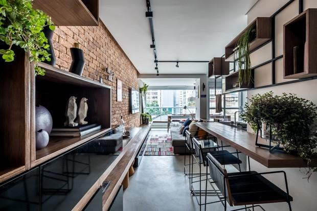 Primeiro apartamento: cores e festas em 48 m² (Foto: FOTOS NATHALIE ARTAXO)