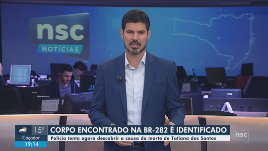 Identificado corpo de jovem encontrada às margens da BR-282 na Serra catarinense