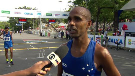 Terceiro colocado, Gilmar Lopes analisa prova e festeja desempenho