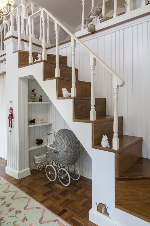 Casa de boneca reproduz fazenda em escala infantil para menina de 2 anos (Foto: Divulgação)
