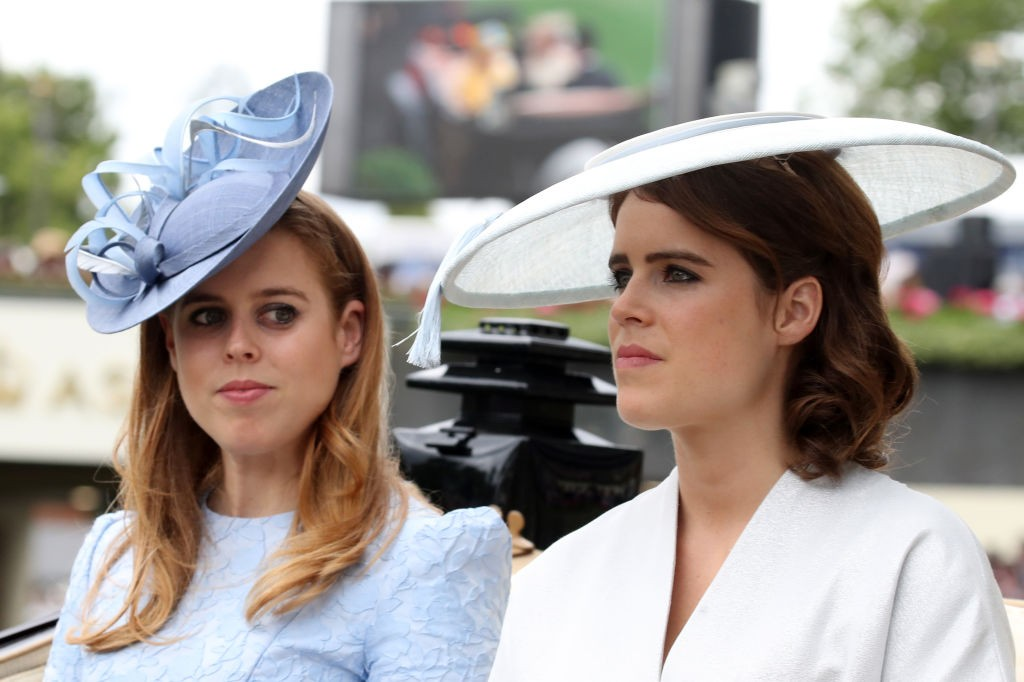 Princesas Beatrice e Eugenie (Foto: Getty Images)
