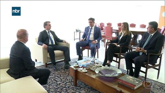 Bolsonaro recebe presidentes de seis partidos para articular a reforma da Previdência