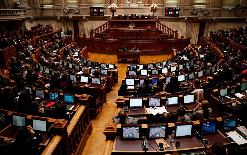 Parlamento de Portugal debate descriminalização da eutanásia nesta quinta-feira (20) — Foto: Rafael Marchante/Reuters