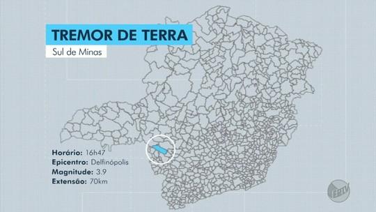 Laboratório da UnB registra tremor de terra de magnitude 3.9 em Delfinópolis, MG