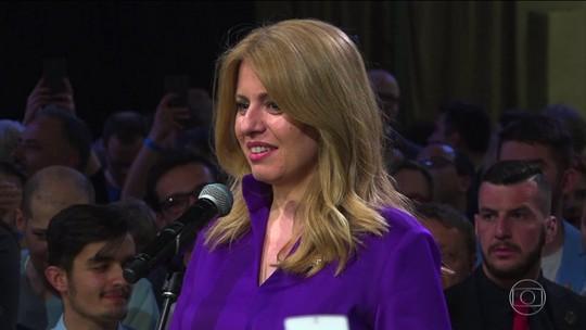 Eslováquia elege primeira presidente mulher do país