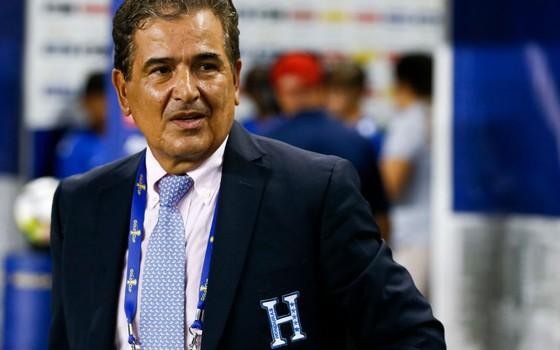 Jorge Luis Pinto, técnico de Honduras na Olimpíada de 2016. O colombiano tem um histórico vitorioso em solo brasileiro (Foto: Getty Images)