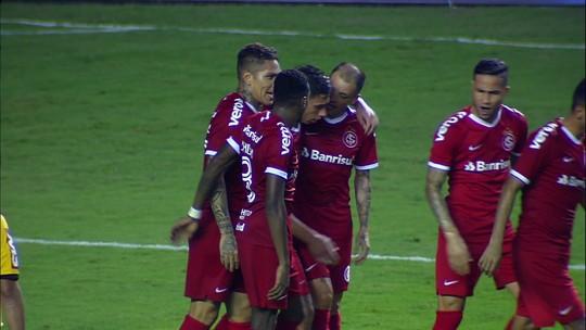 O gol de Paysandu 0 x 1 Internacional pelas oitavas de final da Copa do Brasil