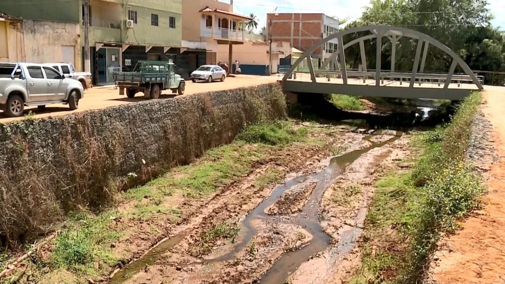 Seca no Espírito Santo (Foto: Reprodução/ TV Gazeta)