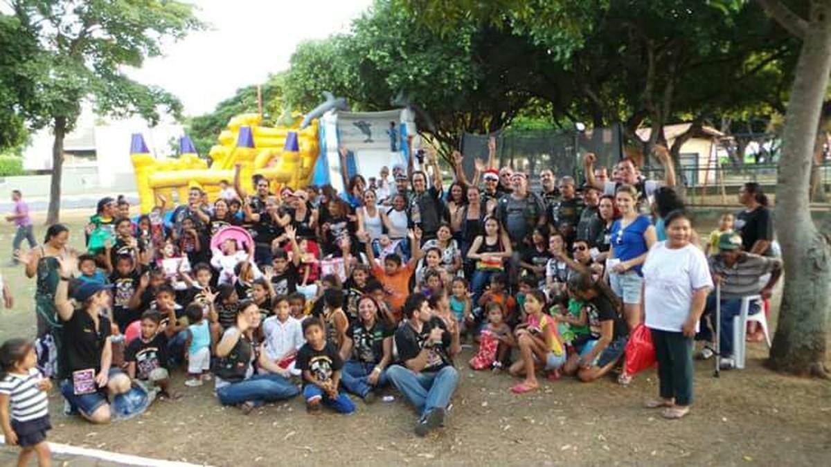 Roraima Motoclube arrecada brinquedos para Natal Solidário em Boa Vista