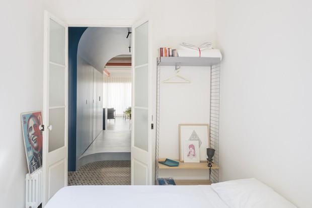 Cor e amplitude dão vida nova a apartamento de 1914  (Foto: Fotos Roberto Ruiz/Divulgação)
