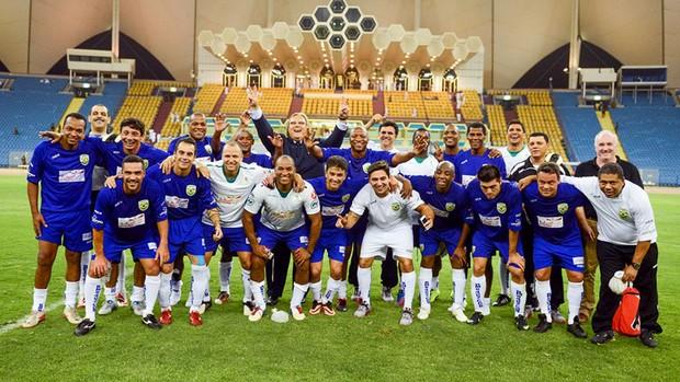 Seleção de ex-jogadores do Brasil (Foto: Divulgação)